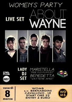 About Wayne + lady djset